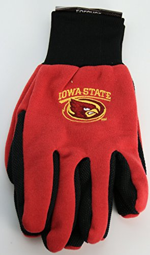 NCAA Iowa State Utility Gloves-One Size Fits Most