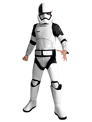 Rubie's Star Wars Episode VIII: The Last Jedi, Child's Deluxe Executioner Trooper Costume, Medium ()