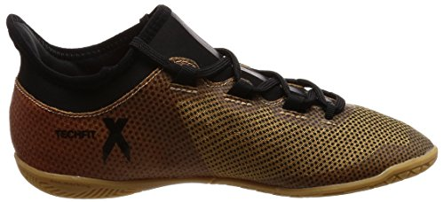 adidas Unisex-Kinder X Tango 17.3 in Gymnastikschuhe Mehrfarbig (Tactile Gold Met. F17/core Black/solar Red)