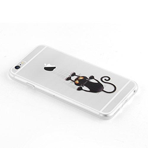custodia iphone 6s silicone trasparente