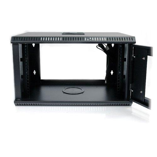6u 19 inch wall mount server rack cabinet for Rack mural 6u