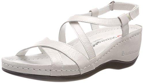 Berkemann Women's Coletta Ankle Strap Sandals Silver (Silber 696) 5d000Bbe
