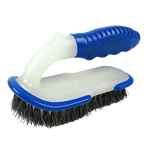 POOLWHALE Heavy Duty Good Grips All Purpose Scrub Brush,Multi-Function Handle Brush