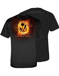The Hunger Games Fire Mockingjay Men's T-Shirt