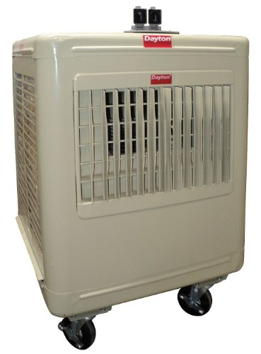 Dayton Air Conditioning - Dayton 6RJZ4 Cooler, Evaporative, 2800CFM