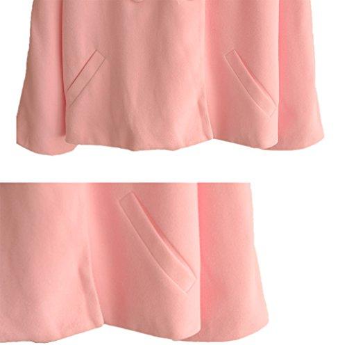 Manches Manteau Chauve Souris Pink Manteau Manches Manteau YunPeng Souris Manteau Chauve fHqx6