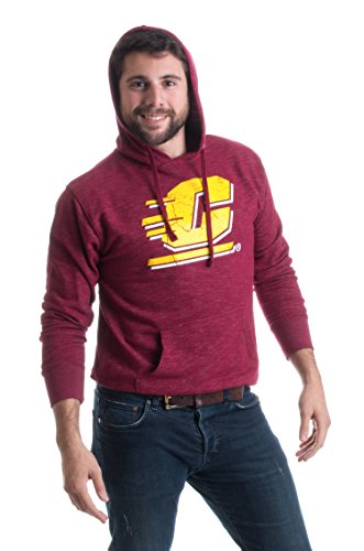 Central Michigan University | CMU Chippewas Fleece Hooded Sweatshirt Hoody