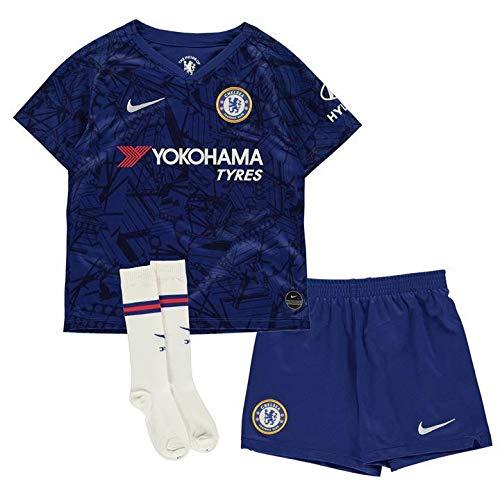 Chelsea Home Shirt - Nike 2019-2020 Chelsea Home Little Boys Mini Kit