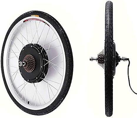 Wangkangyi 26 pulgadas 36 V 500 W LCD Eléctrico bicicleta bicicleta eléctrica Kit de conversión para bicicleta eléctrica bafang Heck Bike Kit de conversión Pedelec rueda trasera Motor trasero: Amazon.es: Deportes y