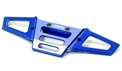Integy Hobby RC Model Hop-ups T6720BLUE Billet Machined Front Bumper for HPI Savage X 4.6 2011, Flux & Savage XL