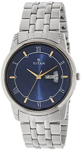 Titan Karishma Analog Blue Dial Men's Watch -NL1774SM01