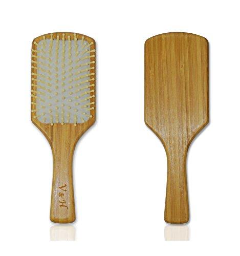 Natural Bamboo Hair Brush - Massage - Bamboo Brush Hair