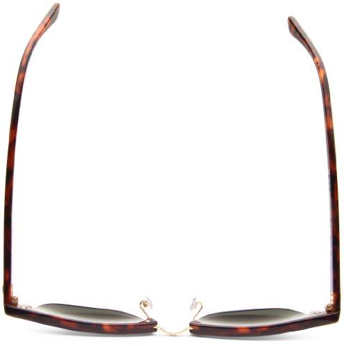 para Ban Marrón RB sol Havana Gafas mujer Ray 2156 Vidrio Clásico de Marco W0366 Verde 8YpwHxqnd