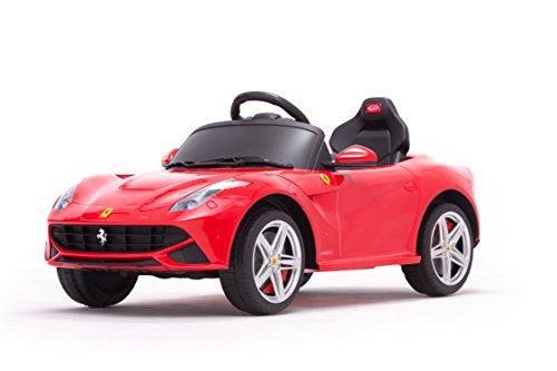 Kinderauto Original Lizenz Elektroauto Kinderfahrzeug Kinder Auto Spielzeug RC 12V-Motor Version Ferrari Berlinetta F12