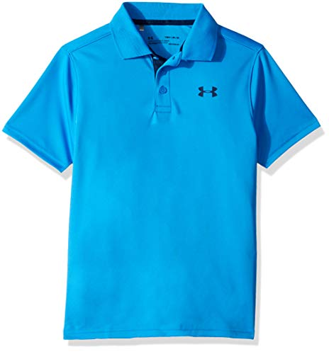 Under Armour Performance Polo - Blue Circuit/Academy, Youth Large