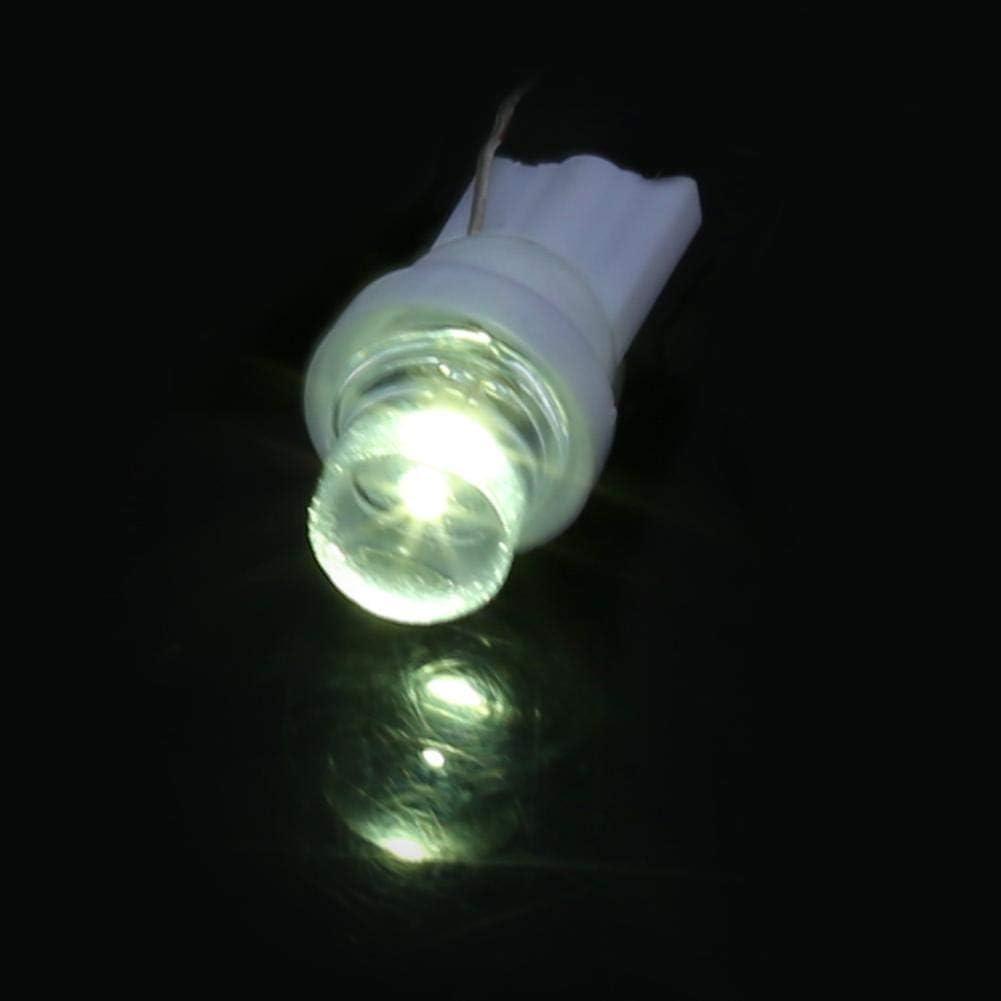 Blanc Bleu Rouge Orange Vert 158 194 168 W5W Voiture LED Ampoules Multi-Couleur Lampe Qiilu 100 pi/èces T10 Ampoules de voiture