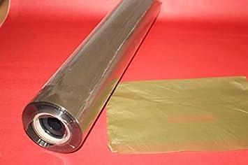 50 cm 500 mtr. Geschenkfolie Schmuckfolie Klarsichtfolie EXTRA STARK 30 /µ PPO transparent