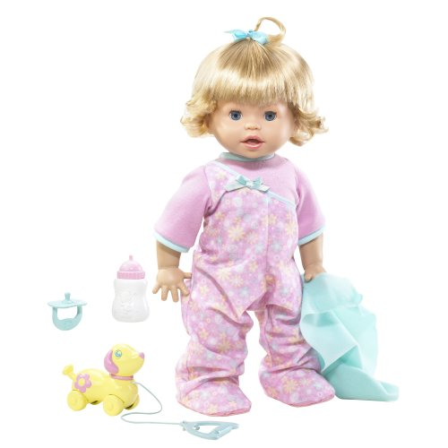 - Little Mommy Real Loving Baby Walk & Giggle Doll