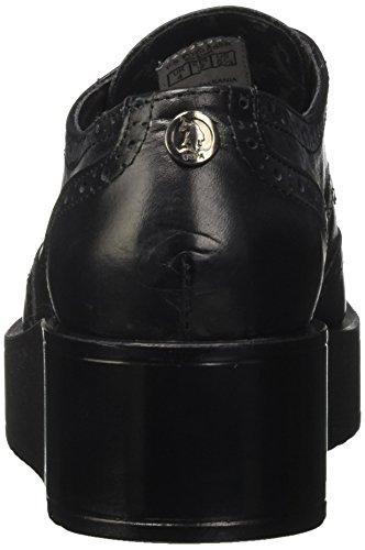 U.S.POLO ASSN. Damen Salome Leather Brogue/Oxford Schwarz