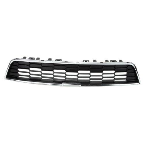 CarPartsDepot, Front Bumper Grille Grill Upper Honeycomb Grid Chrome Trim Assembly, 400-152176 GM1200638 95215846