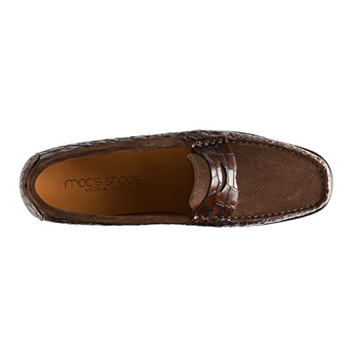 Ravenna 's marrón Shoes zapato Mac Negro tFqA4tw