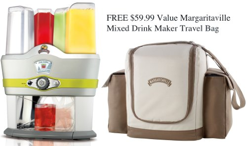 Margaritaville Mixed Drink Maker w/Travel Bag Model NBMGMD3000 by Margaritaville
