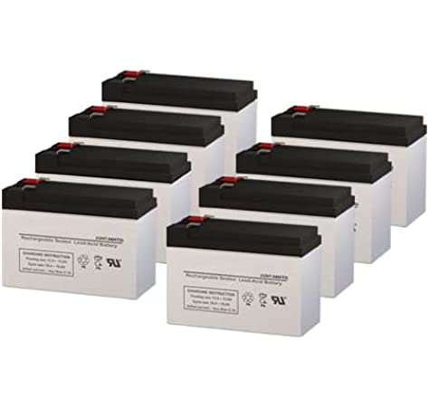APC Smart UPS XL 2200 120V SU2200XLNET Compatible Replacement Battery Set by UPSBatteryCenter