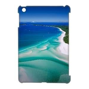 Customized Sea and Beach iPad Mini 3D Case, Sea and Beach DIY 3D Case for iPad Mini at Lzzcase