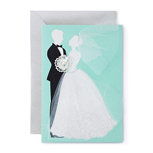 Hallmark-Wedding-Card-Tulle-and-Gems-Bride-and-Groom