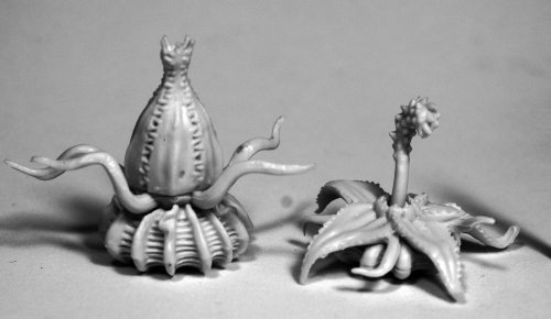 Reaper Miniatures Death Star Lilies (2)#77504 Bones RPG D&D Mini Figure - Reaper Star