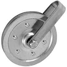 Ideal Security Inc. SK7114 4-Inch Pulley, Galvanized