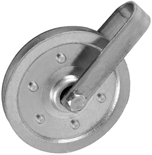 Ideal Security SK7114 Garage Door Pulley with Fork and Bolt 4 inch Pulley