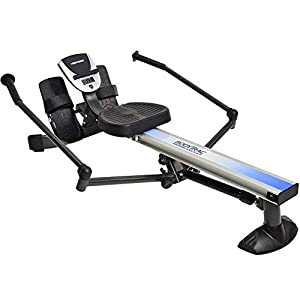 Well-Being-Matters 41SZ5vAS-3L._SS300_ Stamina Products BodyTrac Glider 1060 Hydraulic Resistance Fitness Rower Machine, Blue