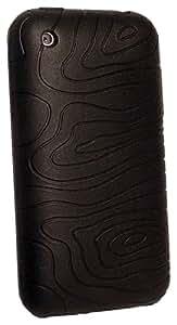 GSM Access SILAPIPHON33 Trendy - Carcasa de silicona para iPhone 3G, color negro