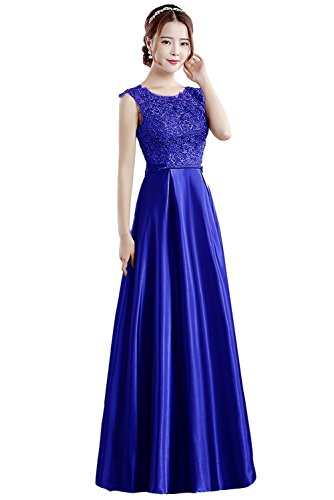 Embroidered Bodice A-line Satin - 9