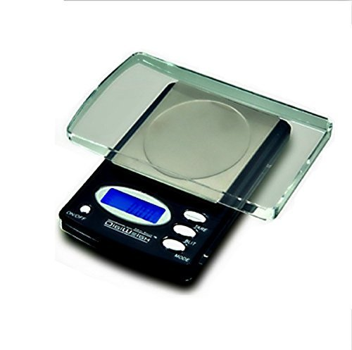 1 NEW 600 x 0.1 gram DIGITAL LAB SCALE-Electronic Pocket Tool for Chemistry, Chemical Test, School Classrooms, or Home + 5 Gram Gold Test Bar by DigiWeigh