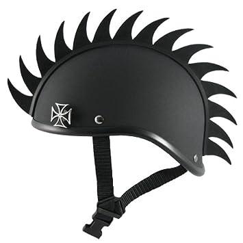 Voss Gladiator casco de moto casco w/Mohawk