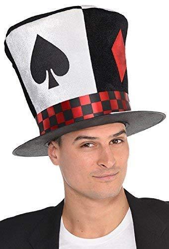 585e83773d4 Fancy Me Donna Uomo Poker Casinò Mazzo di Carte Cappellaio Matto Las ...