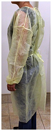 Toolusa 50 Piece Disposable Yellow Gowns: Dc3 by ToolUSA (Image #3)