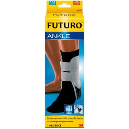 3M Health Care 48442EN FUTURO Stirrup Ankle Brace, Adjustable, White (Pack of 12) by 3M Health Care