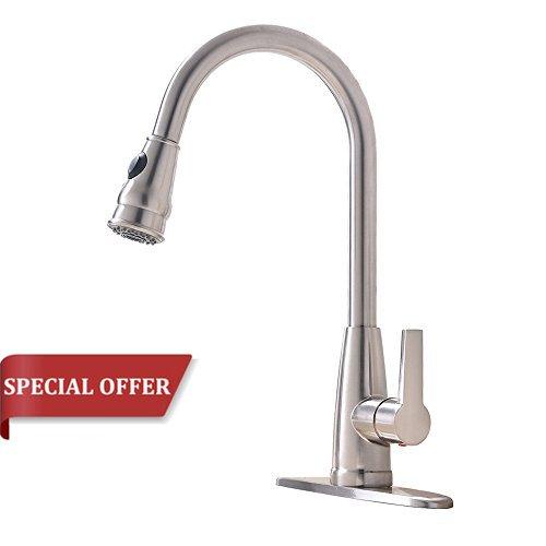 high arch kitchen faucet - 8