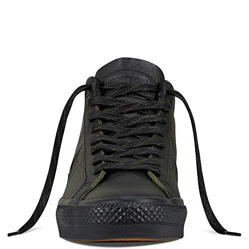 Converse Men's Star Pro Mid Black/Black/Black Skateboarding Shoes