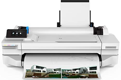 HP 24″ Large-Format Printer – Color – Ink-Jet – Roll A1 (24 in x 150 Ft) – 1200 x 1200 Dpi – Up to 0.6 Min/Page (Mono)/ Up to 0.6 Min/Page (Color) – USB 2.0, LAN, Wi-Fi