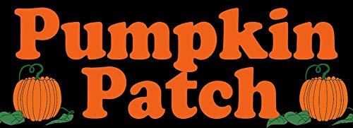 Tao Tao Family Vinyl Halloween Banner Sign Pumpkin Patch k 2x4, 2x6, 2x8, 3x8, 3x10, 4x8, 4x12'