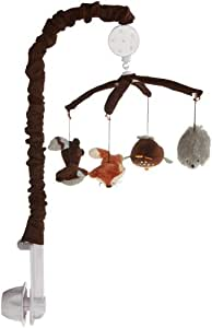 Carter's Forest Friends Musical Mobile, Tan/Choc (Discontinued by Manufacturer)