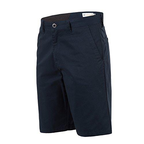 Volcom Men's Frickin Chino Short, Dark Navy, (Blue Walking Shorts)