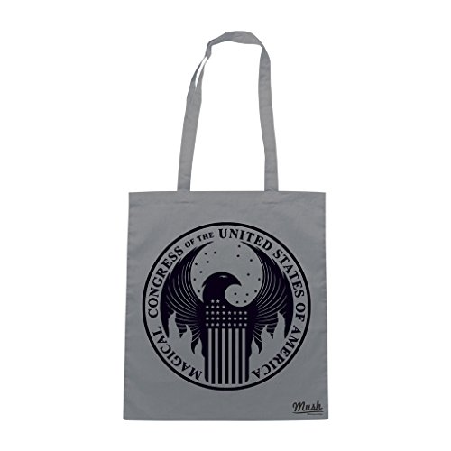 Borsa MAGICAL CONGRESSMACUSA HARRY POTTER - Grigio - FILM by Mush Dress Your Style