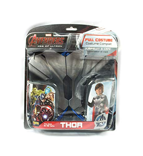 Boys Superhero Halloween Costume Set, Kids Marvel Avengers Thor Costume Cape -