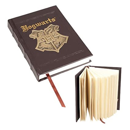 Wizarding World Harry Potter Deluxe Hogwarts Metal Crest Journal