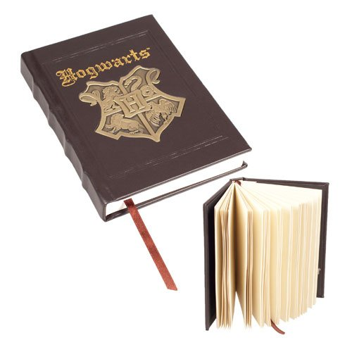 Harry Potter Hogwarts Metal Crest Journal – HPB